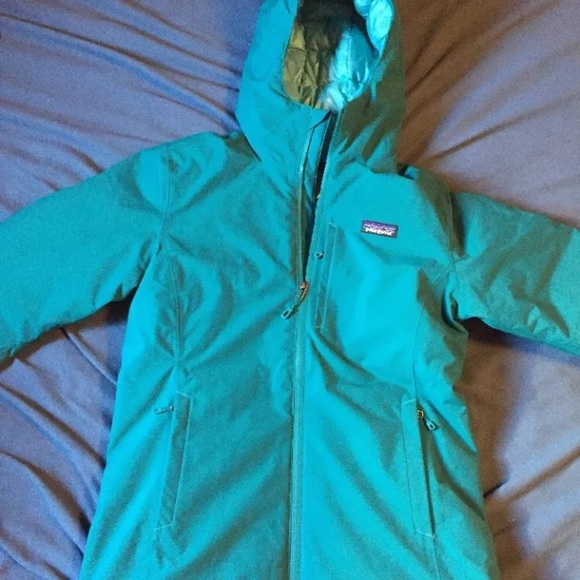 Patagonia womens s windswept down hoody 2129755a9378